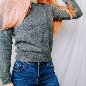 Pure Wool Grey Sweater
